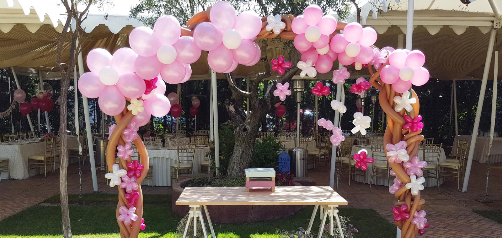 Decoraci n con globos para bodas en granada originalandia for Decoracion con globos bodas