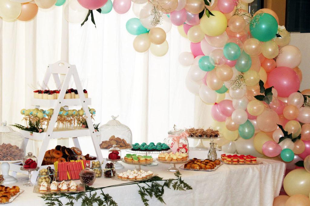 Mesas Dulces En Granada Decoradas Con Globos Y Mucho Mas - Mesas-dulces